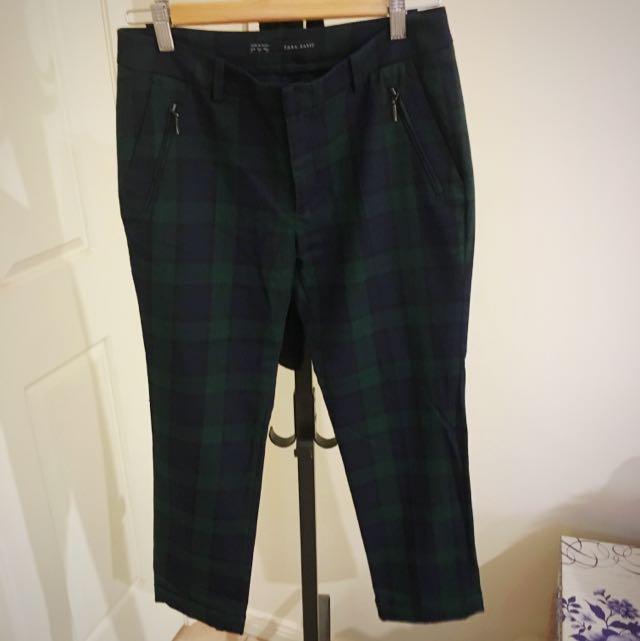 Zara - Checkered Pants