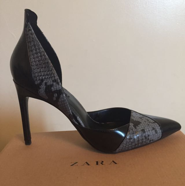 Zara Heeled Pumps
