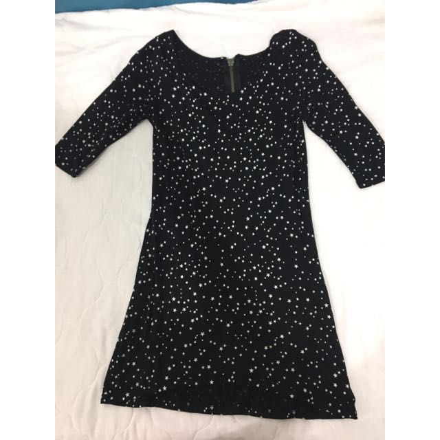Zara Authentic Stars Slim Dress