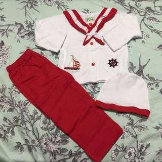 Really Cute Sailor Pyjama 6-9 Months