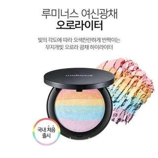 預購 TONYMOLY Luminous 彩虹打亮粉餅
