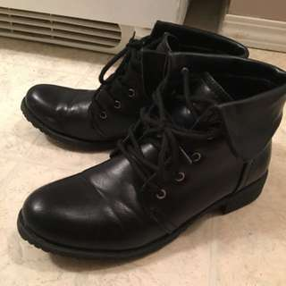 Black Size 8 Boots