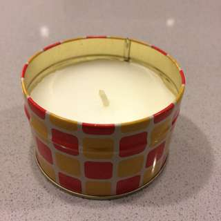 Raspberry Candle