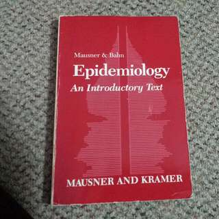 Epidemiology: An introductory Text