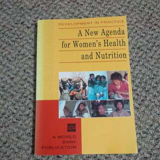 Women's Health and Nutrition