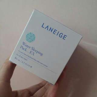 Laneige Water Sleeping Pack水亮補濕睡眠面膜