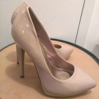 Nude High Heels From Spring Size 7