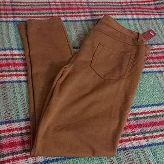 Brown jeggings