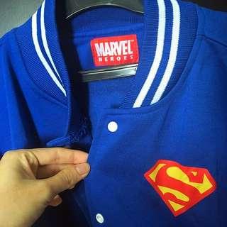Jaket Superman Authentic Marvel Item