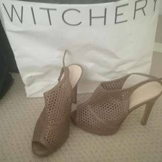 Witchery Leather Shoes 38