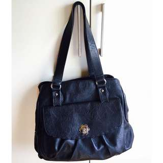 Kate Hill Black Handbag