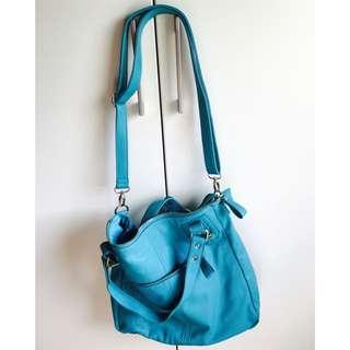 Sportsgirl Blue Teal Handbag