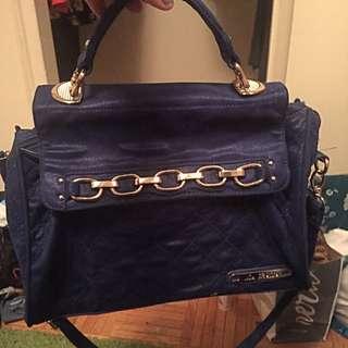 La Bella Blue Colored Handbag