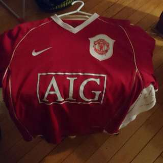 Manchester United HOME 06/07 S