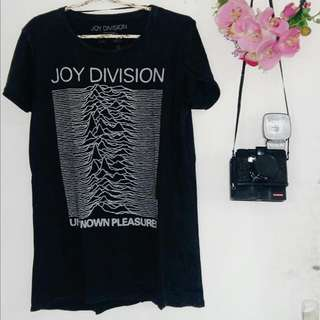 Joy Division x Pull & Bear Distressed Band Tee