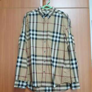 Burberry Brit Long Sleeve Shirt 100% Authentic