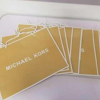Original Michael Kors Paper Bags 10pcs
