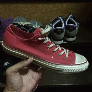 Converse Faded Red