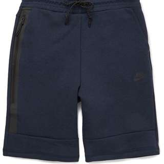 Nike Tech Fleece Shorts Navy S