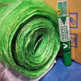 Roll Of Green Finer Mesh