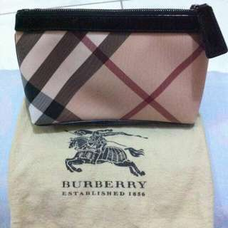 Burberry Make Up Pouch