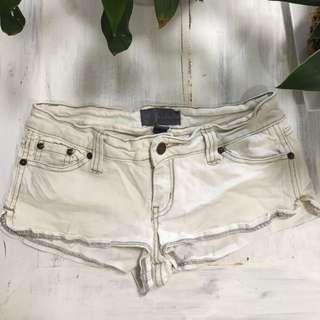 In Denim Light Denim Mini Shorts Size 8