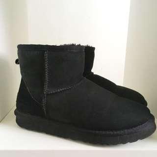 #出清秋靴 日本購入UGG雪靴(短筒)