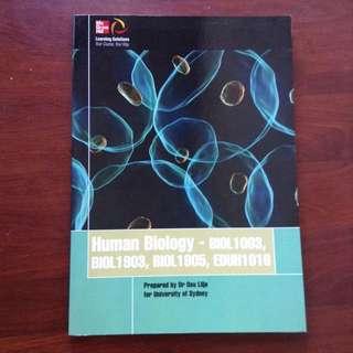 Human Biology (USyd Textbook)