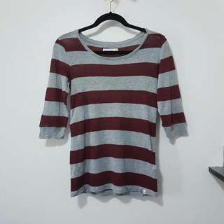 Abercrombie &  Fitch Striped Tshirt