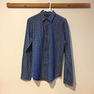 Patterned Button Up (INDUSTRIE)