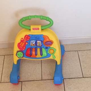 Fisher Price Push-along Walker Toy