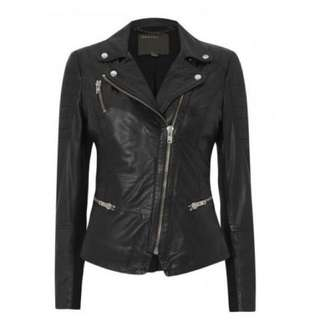 Muubaa London Designer Leather Jacket