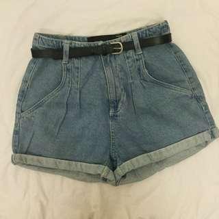 Factorie high waisted short jeans