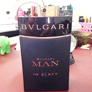 Bulgari Bvlgari Man In Black Eau De Parfum Cologne For Men 100ml