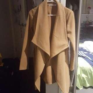 ○pending○PRINCESSPOLLY Tan Jacket Coat S/8
