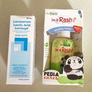 Baby Bath And Soothing Cream