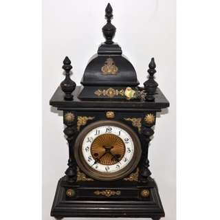 Old Clock European 19th Century Mechanical Movement
