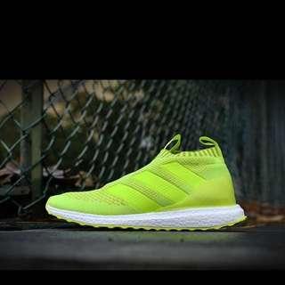 adidas  太極 二代中帮 (貝克漢姆同款) 原廠品質 螢光黃