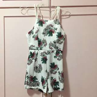 BRAND NEW! Floral Playsuit