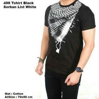 Tshirt Sorban Muslim 3D