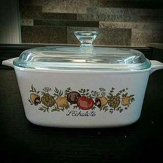 Spice Of Life 1.5litres Corningware Casserole With Pyrex Lid