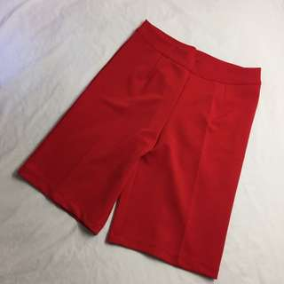 Quarter Red Bottom Loose Short
