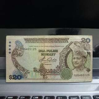 RM20 Note
