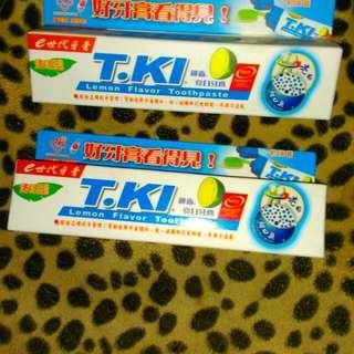 T.kl鐵齒亮白牙膏