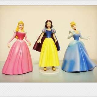 迪士尼 公主 絕版 公仔 扭蛋 白雪公主 睡美人 灰姑娘 仙度瑞拉