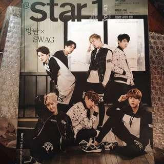 star1 magazine vol.43 of BTS (bangtan)
