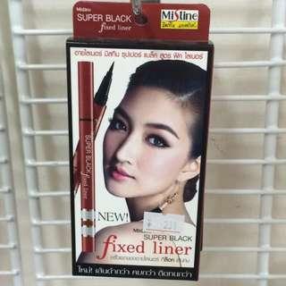 Mistine泰國彩妝品牌 眼線液濃黑款