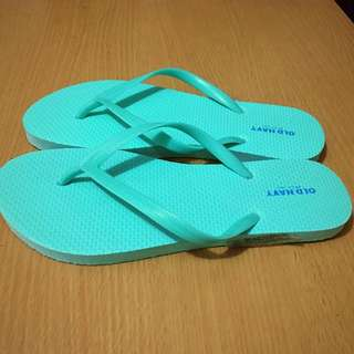 Old Navy Slippers Sz 6 Mint Green