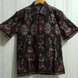 Kemeja Batik Tenun Jepara