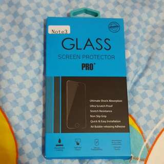 Note 3 glass protector